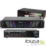 """Ibiza Amplificador Áudio 19"""" 2X240W - AMP300(I)"""