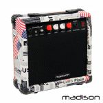"Madison Amplificador P/ Guitarra + Coluna 6.5"" AUX/MP3 20W - GA20-USA"