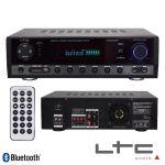 LTC Amplificador Stereo Hifi 2x50w + 3x20w Usb/fm/bt/sd