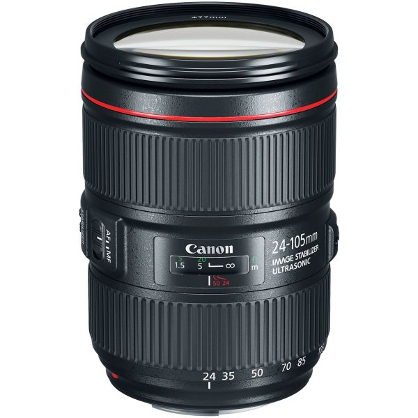 Objetiva Canon EF 24-105mm f/4L IS II USM