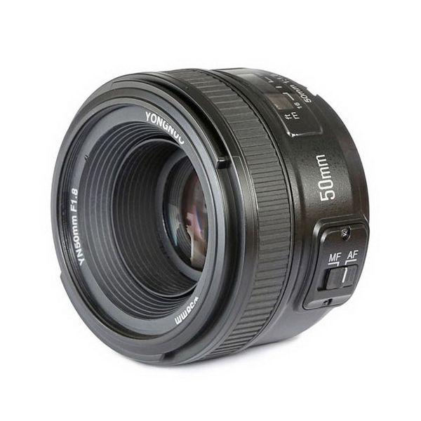 Objetiva Yongnuo YN 50mm f/1.8 para Nikon
