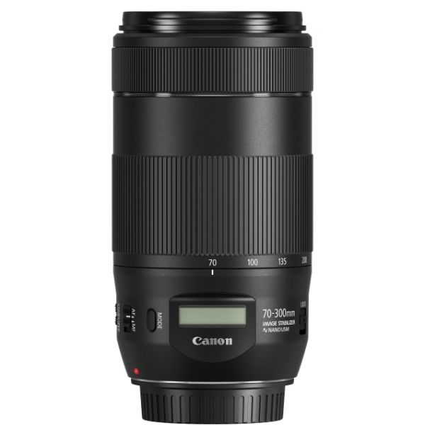 Objetiva Canon EF 70-300mm f/4-5.6 IS II NANO USM