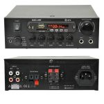 QTX KAD-2BT Amplificador de Karaoke 55W com USB + SD + MP3 + FM