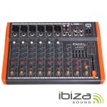 Ibiza Mesa de Mistura MX801 Black Orange