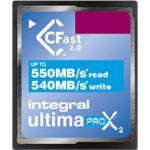 Integral 128GB CFast Ultima Pro X2 3600x - INCFA128G-550/540