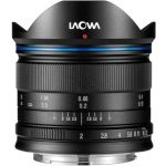 Objetiva Laowa 7.5mm f/2 Standard Black para MFT