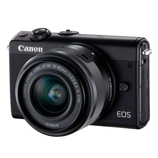 Canon EOS M100 Black + 15-45mm f/3.5-6.3 EF-M IS STM