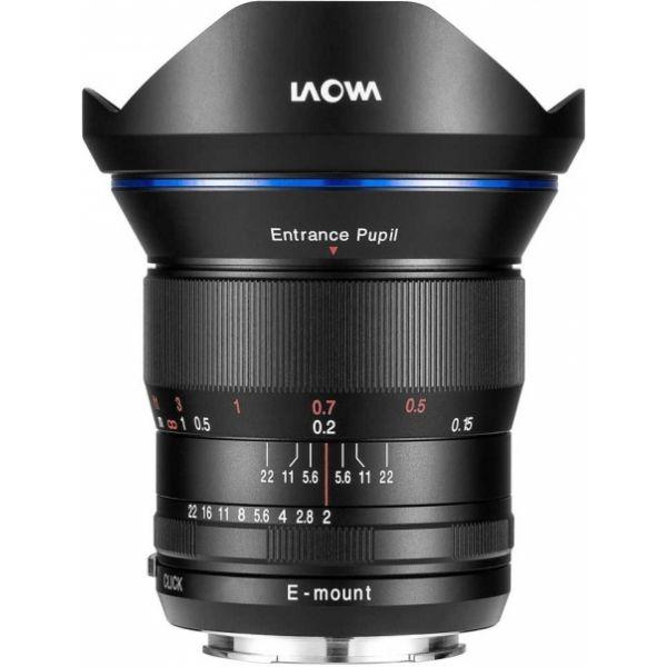 Objetiva Laowa 15mm f/2 Zero-D para Sony FE