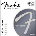 Fender Cordas Guitarra Clássica 100 28-43