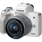 Canon EOS M50 + 15-45mm EF-M IS STM White