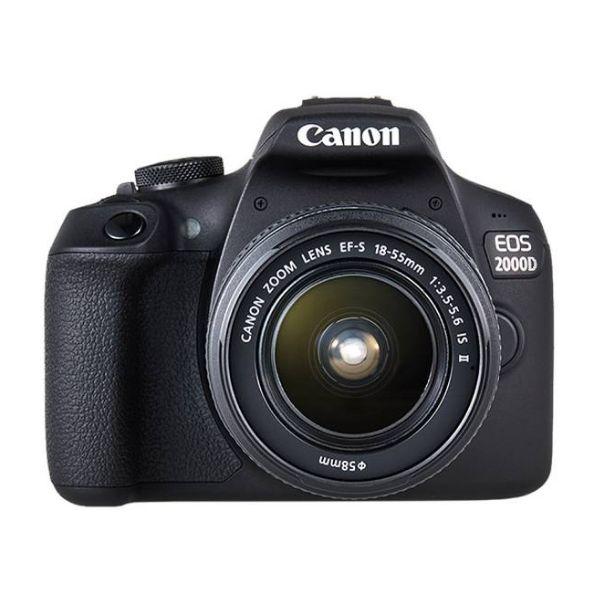Canon EOS 2000D + 18-55mm f/3.5-5.6 EF-S IS II Black