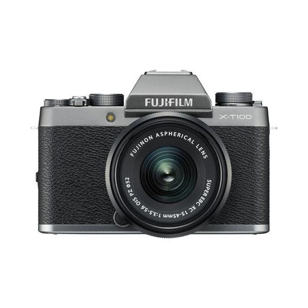 Fujifilm X-T100 + 15-45mm PZ Silver