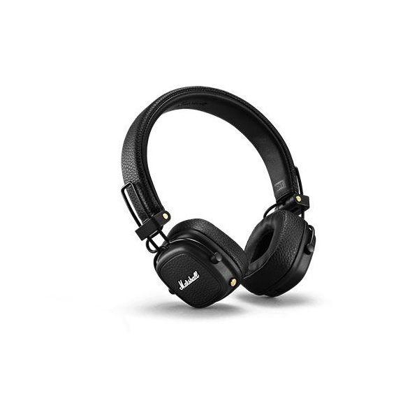 Marshall Auscultadores Bluetooth Major III Black
