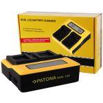 Patona Carregador Duplo LCD USB para Canon LP-E12 - 7652