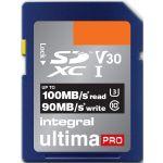 Integral 256GB SDXC Ultima Pro 4K U3 100MB/s