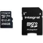Integral 256GB Micro SDXC Ultima Pro U3 100MB/s + Adapter - INMSDX256G10090V30