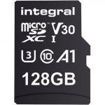 Integral 128GB Micro SDXC Ultima Pro U3 100MB/s + Adapter - INMSDX128G10090V30