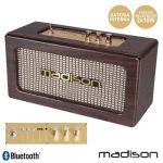 Madinson Coluna Bluetooth Vintage 2X10W