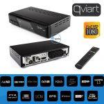 Qviart Receptor TDT & Cabo DVB-T2/C HD - T2 H265 HEVC Premium