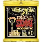 Ernie Cordas para Guitarra Acústica Ball Slinky Acoustic 2158