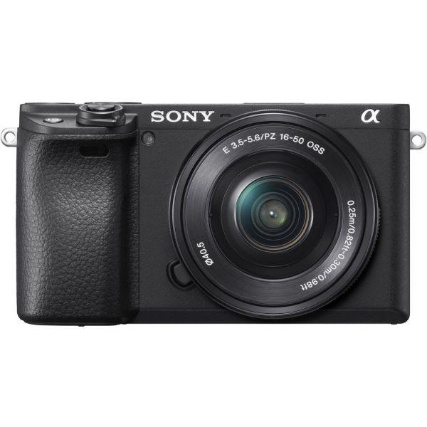 Sony Alpha 6400 + 16-50mm PZ Black