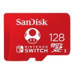 SanDisk 128GB Micro SDXC UHS-I U3 Nintendo Switch - SDSQXAO-128G-GNCZN