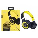 MTK Moveteck Auriculares Superbass Cor amarelo - K3451YELLOW