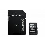 Goodram 16GB Micro SDHC Class 10 UHS-I + Adaptador SD - M1AA-0160R12