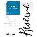 D'Addario Palhetas Reserve Clarinete 3.5 10un.