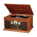 Innovative Technology Victrola Classic 6 em 1 Bluetooth Mogno