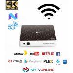 Formuler Receptor IPTV UltraHD 5G 4K Android 2GB/8GB WI-FI Branco