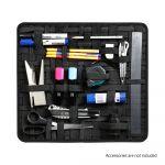 Adam Hall Accessories 8740 XDSB - Elastic Strap Organizer for Rack Drawers etc. 390 x 350 mm