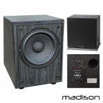 Madison Grave Subwoofer Amplificado Hi-fi 100W - MAD-SW800