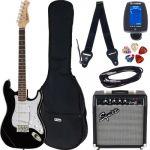Harley Benton Guitarra Eléctrica ST-20 Black Standard Series Pack