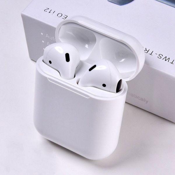 HBQ Auriculares I12 TWS Bluetooth 5.0 Branco