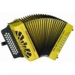 Hohner El Rey Del Vallenato Yellow Fa/La#/Re#