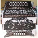 Organola Super De Luxo Carbono Preto Branco