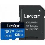 Lexar 128GB microSDXC 633x Class 10 A1 U3 V30