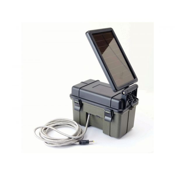 HME Products Gerador Solar 12v Trail Camera Aux Power Pack