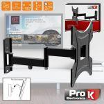 """ProK Electronics Suporte para Lcd 13/37"""" 25KG Preto 2 Braços"""