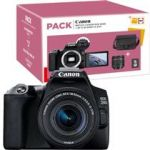 Canon EOS 250D + EF-S 18-55mm f/4-5.6 IS STM + Bolsa + Cartão de Memória Pack Fnac