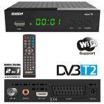 Edision Receptor TDT DVB-T2 H.264 Wi-Fi Full HD c/ USB - PICCO-T2