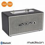 MADISON Coluna Bluetooth Vintage 15W Preto - MAD-VINTAGE15