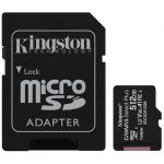 Kingston 512GB Micro SD Canvas Select Plus Class10 UHS-I + Adaptador - SDCS2/512GB