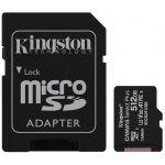 Kingston 512GB MicroSDXC Canvas Select Plus Class10 UHS-I + Adapter - SDCS2/512GB
