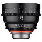 Objetiva Xeen 20mm T1.9 FF CINE PL Mount