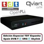 Qviart Receptor Satélite HD Qviart LUNIX (edición especial TDT Espanha SRG, Skylink, Spain DVB-T)