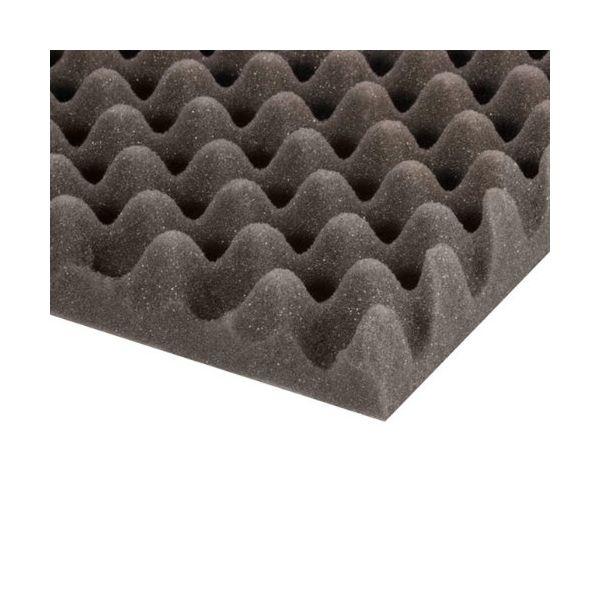 Adam Hall Hardware 019450 Eggbox Foam Grey 50 mm