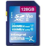Integral 128GB SDXC Ultima X2 260/100MB UHS-II V60