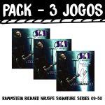 Sit Pack 3 X Jogo Cordas Guitarra Elétrica SRZK950 Rammstein Signa